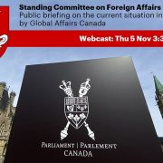 Public Briefing on Situation in Belarus