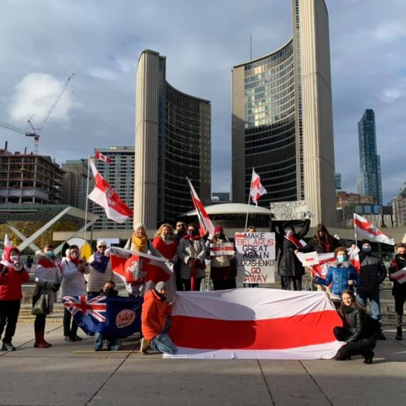 Toronto Stands with Workers and Unions in Belarus