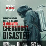 Belarusian Canadian Alliance commemorates victims of Chernobyl 35 years after accident with a webinar